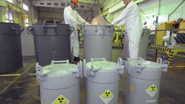 Depósito de combustible nuclear gastado (archivo) - Sputnik Mundo