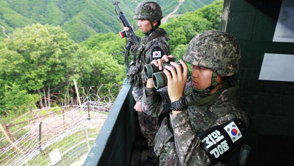 Soldados surcoreanos (archivo) - Sputnik Mundo