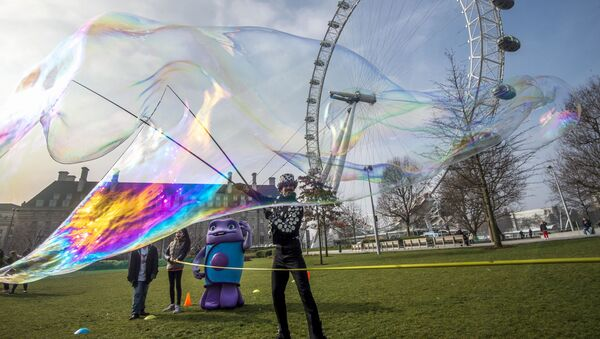London Eye, la noria en Londres - Sputnik Mundo