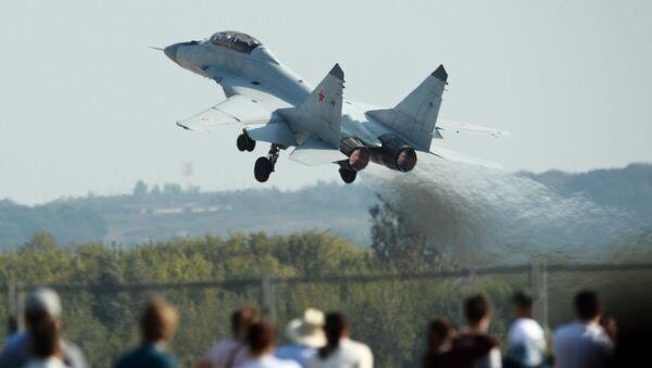 Nuevo caza ruso MiG-35 - Sputnik Mundo