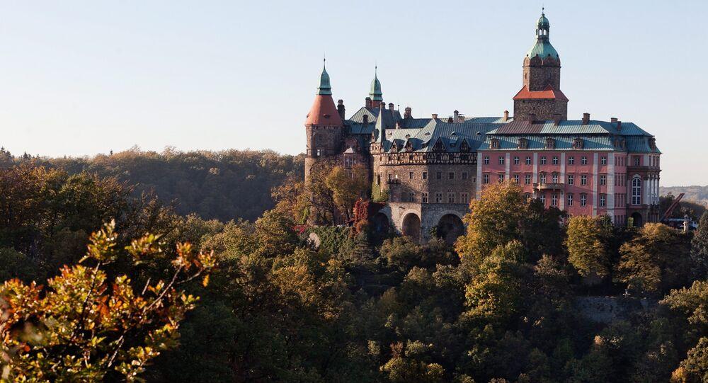El castillo de Ksiaz en Walbrzych
