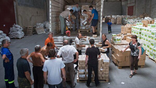 Ayuda humanitaria para la gente de Donbás - Sputnik Mundo