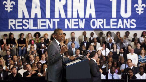 El presidente de EEUU, Barack Obama - Sputnik Mundo