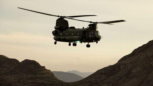 Helicóptero Chinook (archivo) - Sputnik Mundo
