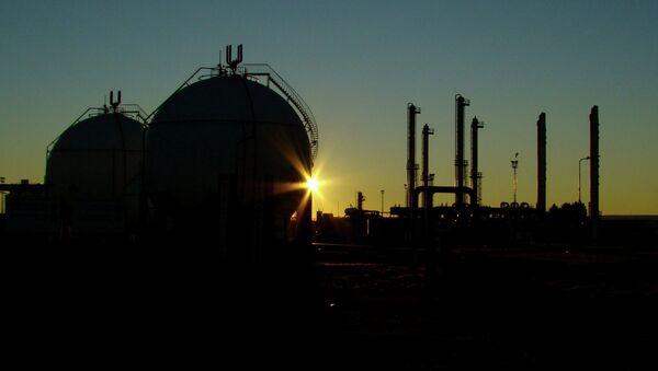 Planta de gas - Sputnik Mundo