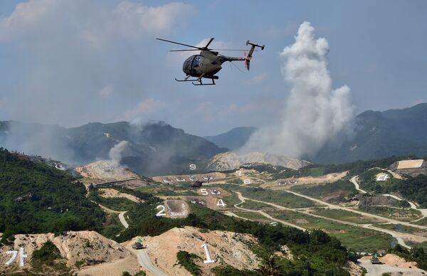 Maniobras militares de Corea del Sur y EEUU junto a la frontera de Corea del Norte - Sputnik Mundo