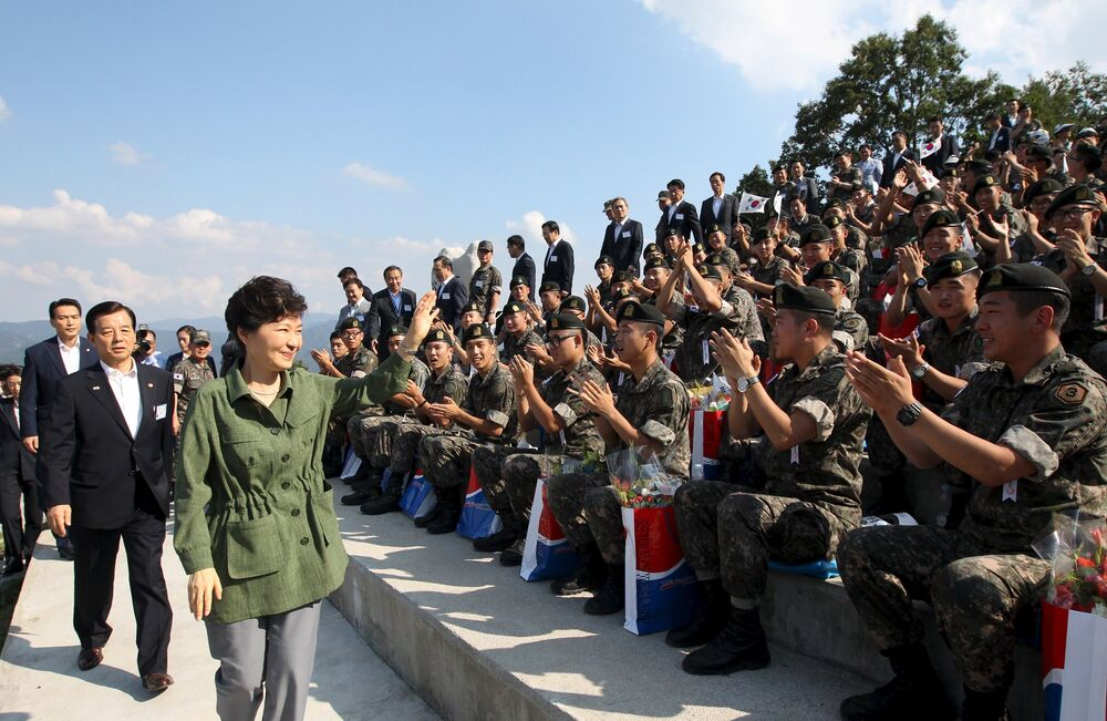 Maniobras militares de Corea del Sur y EEUU junto a la frontera de Corea del Norte