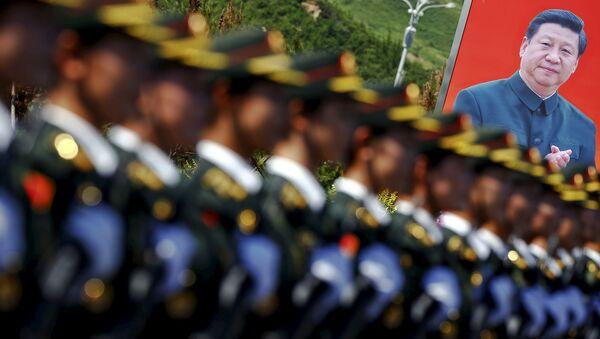 El ensayo del desfile del 70 aniversario de la Victoria en la Segunda Guerra Mundial en China - Sputnik Mundo