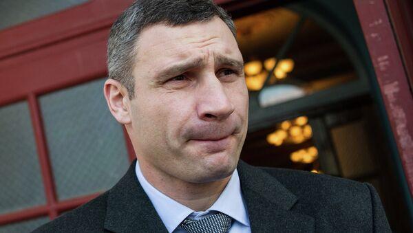 Vitali Klichkó, líder del partido ucraniano Udar y alcalde de Kiev - Sputnik Mundo