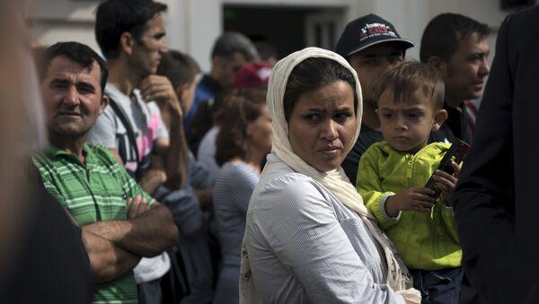 Inmigrantes ilegales en Alemania - Sputnik Mundo