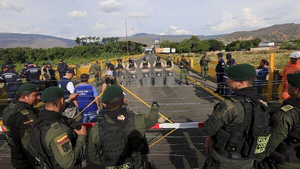Crisis fronteriza entre Colombia y Venezuela - Sputnik Mundo