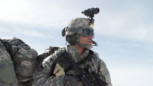 Un soldado estadounidense (archivo) - Sputnik Mundo
