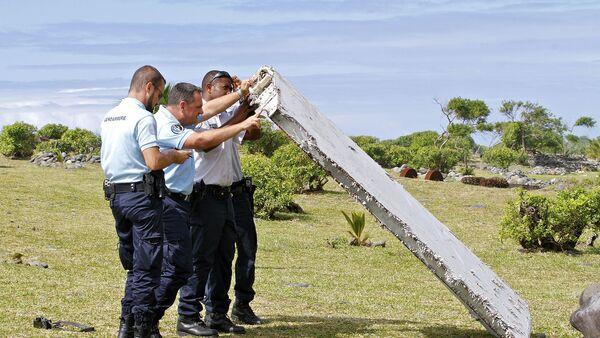 Fragmento del avión del vuelo MH370 - Sputnik Mundo