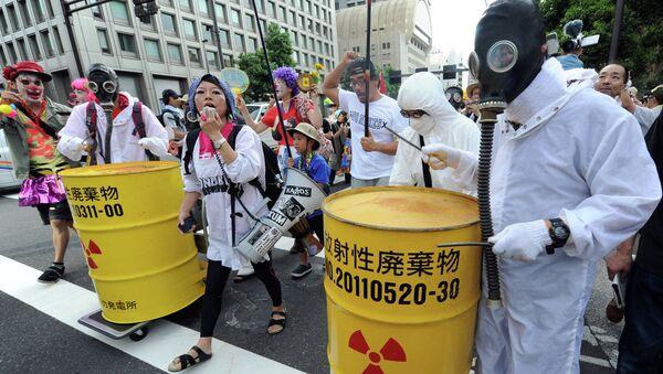 Protestas contra el uso de la energía nuclear en Japón (archivo) - Sputnik Mundo