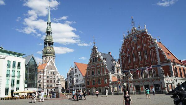 La ciudad de Riga, Letonia - Sputnik Mundo