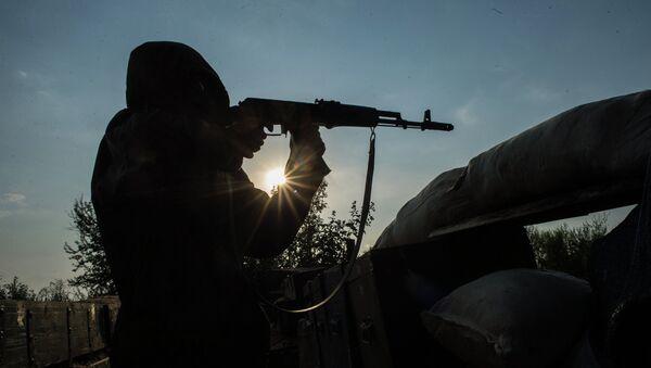 Milicias de Donbás - Sputnik Mundo