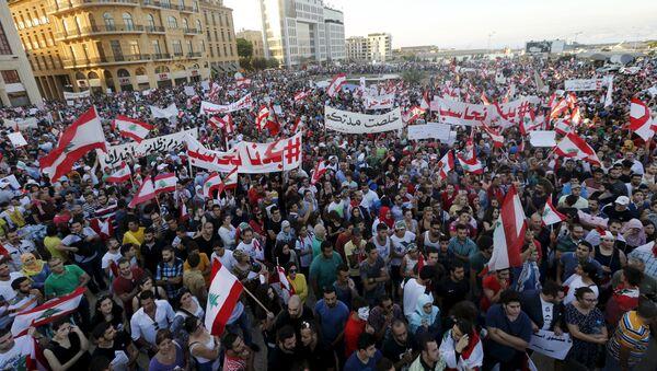 Manifestantes en Beirut ponen ultimátum a las autoridades libanesas - Sputnik Mundo