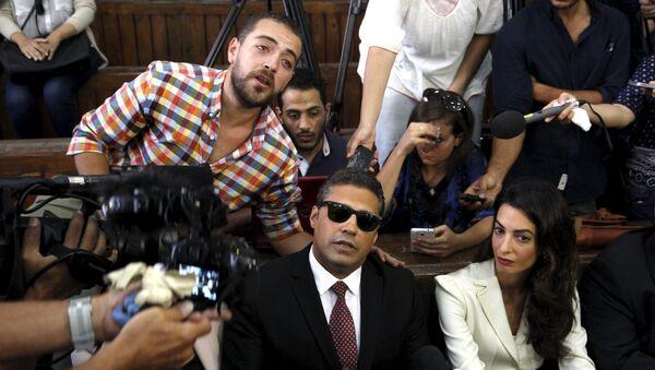 Mohamed Fahmy y Baher Mohamed, periodistas de Al Jazeera - Sputnik Mundo