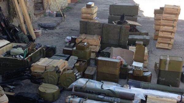 Armamento y municiones ilegales - Sputnik Mundo