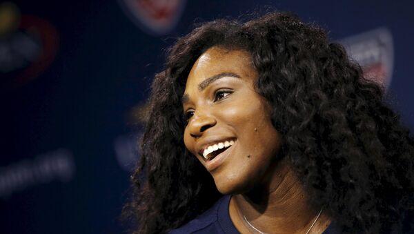 Serena Williams, la tenista estadounidense - Sputnik Mundo