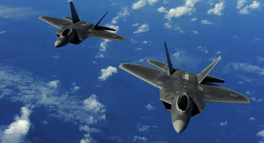 Cazas de F-22 Raptor