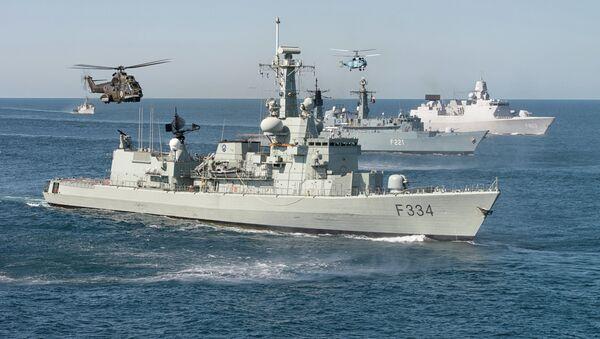 Maniobras navales internacionales Sea Shield - Sputnik Mundo