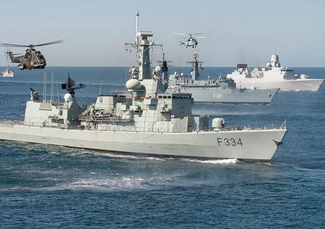 Maniobras navales internacionales Sea Shield