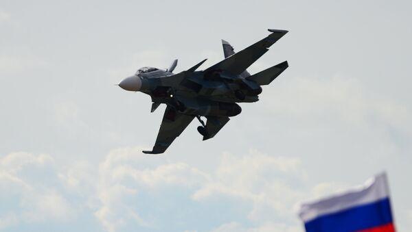 Caza Su-30 (archivo) - Sputnik Mundo