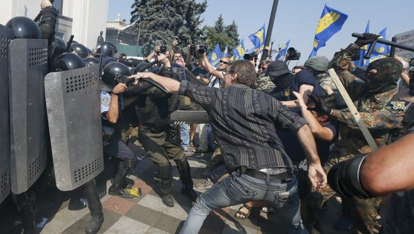 Situación en Kiev - Sputnik Mundo