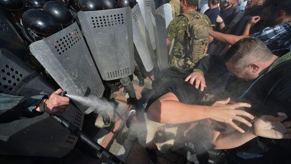 Enfrentamientos en Kiev - Sputnik Mundo