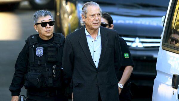 José Dirceu, ex jefe del Gabinete Civil de la Presidencia de la República de Brasil - Sputnik Mundo