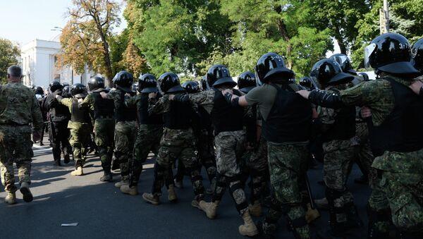 Disturbios en Kiev, el 31 de agosto, 2015 - Sputnik Mundo