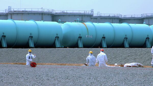 Aguas del subsuelo en Fukushima - Sputnik Mundo