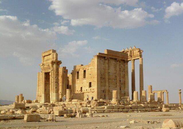 Templo de Bel en Palmira (archivo)