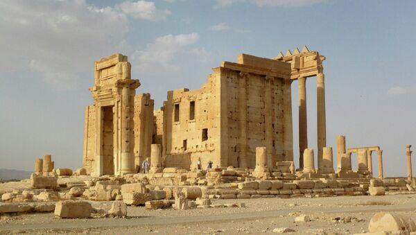 Templo de Bel en Palmira (archivo) - Sputnik Mundo