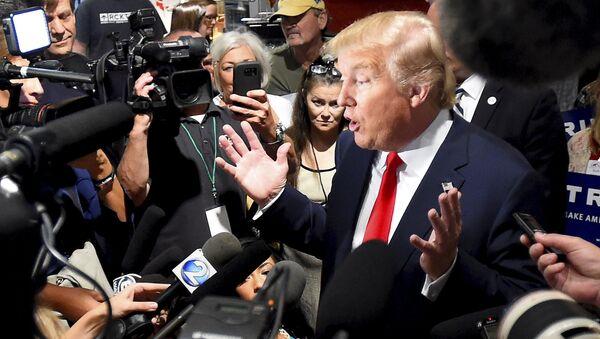 Republican presidential candidate Donald Trump - Sputnik Mundo