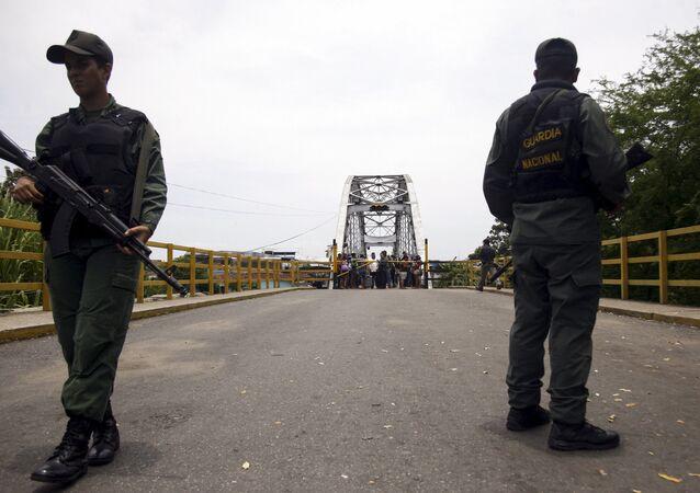 La Guardia Nacional Bolivariana de Venezuela (imagen referencial)