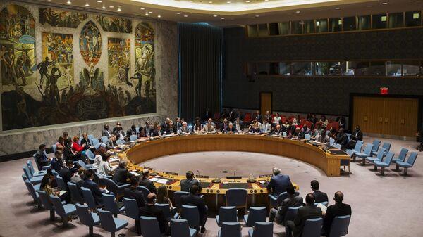 Consejo de Seguridad de la ONU en la sede en Nueva York (archivo) - Sputnik Mundo