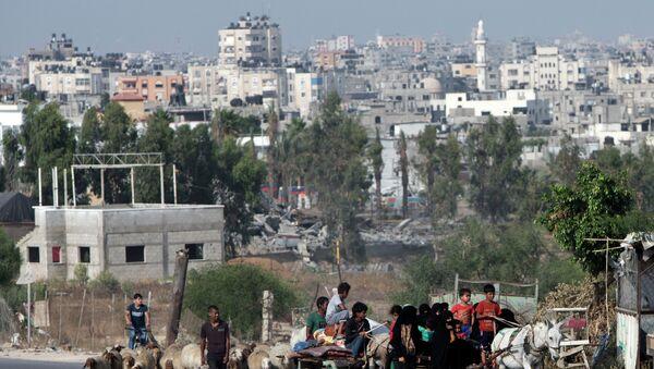 Franja de Gaza (Archivo) - Sputnik Mundo
