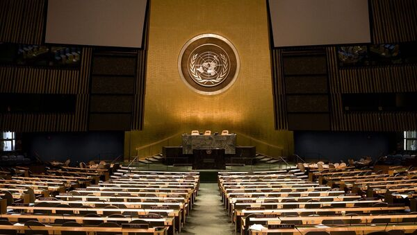 Sede de la Asamblea General de la ONU en Nueva York - Sputnik Mundo