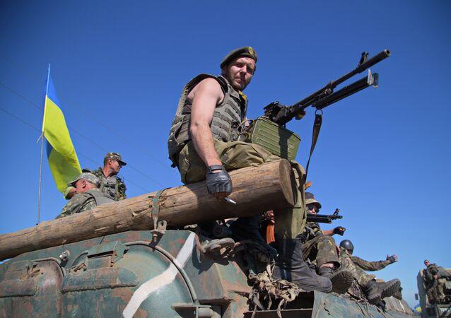 Militares ucranianos (archivo)