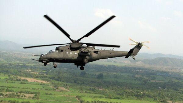 Helicóptero Mi-35M - Sputnik Mundo