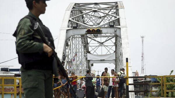 La frontera entre Colombia y Venezuela (Archivo) - Sputnik Mundo