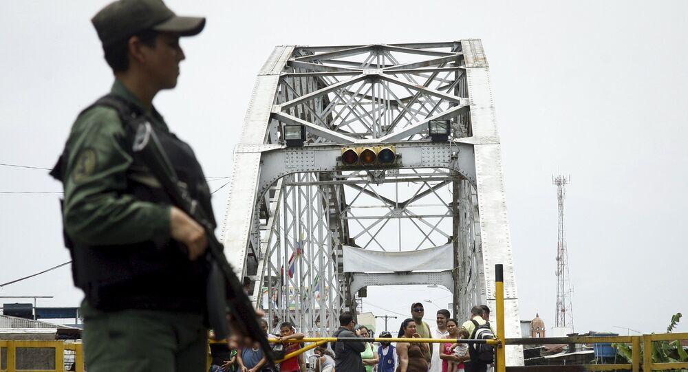 La frontera entre Colombia y Venezuela (Archivo)