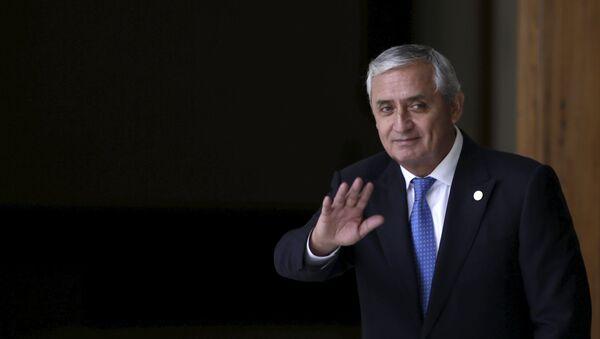 Otto Pérez Molina, presidente de Guatemala - Sputnik Mundo