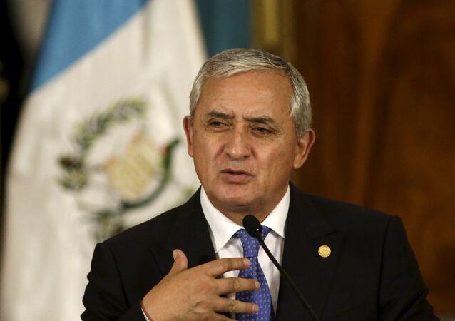 Otto Pérez Molina, expresidente de Guatemala