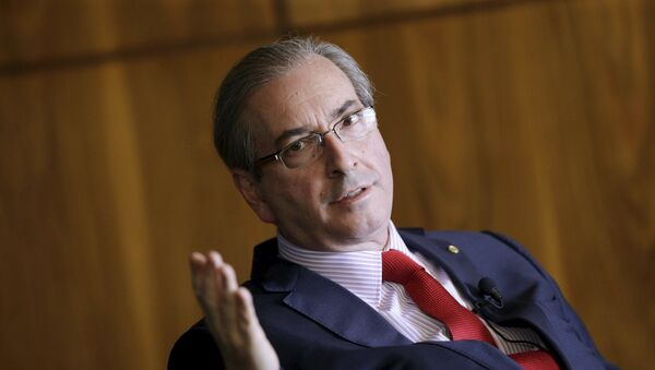 Eduardo Cunha, president of the Chamber of Deputies of Brazil - Sputnik Mundo