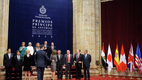 Premio Príncipe de Asturias de 2012 (Archivo) - Sputnik Mundo
