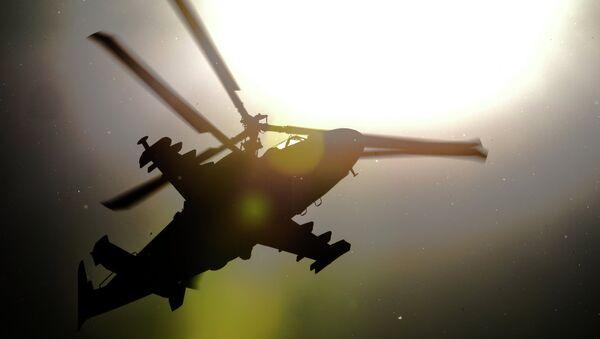 Helicóptero Ka-52 (archivo) - Sputnik Mundo