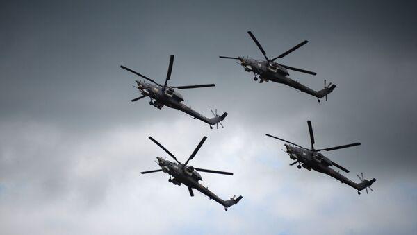 Helicópteros Mi-28N Cazador Nocturno - Sputnik Mundo